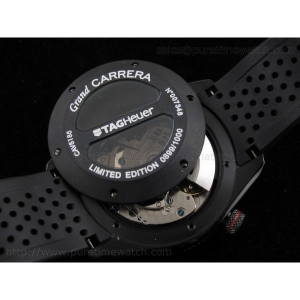 Grand Carrera Calibre 36 RS2 on Rubber Strap