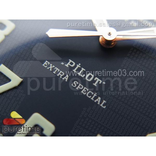 Pilot Type 20 Bronze XF 1:1 California Special Edition on Blue Leather Strap A2824