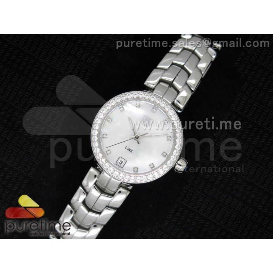 Diamonds Lady TAG Heuer Link Watch Replica